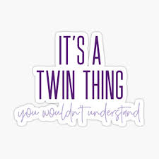 Twins Stickers Redbubble