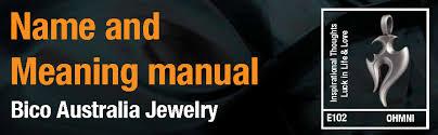 bico australia jewelry name meaning