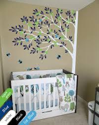 Nursery Corner Tree With Ladybirds Wall Mural Sticker Corner Tree Decal Kr004 Ebay