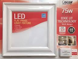 led flat panel light fixture com