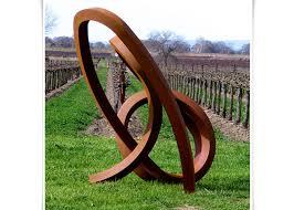 metal art sculpture corten steel