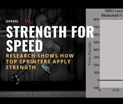 faster sprinters use strength for sd