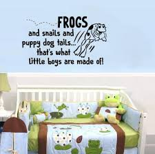 Puppy Dog Tails That S What Little Boys Are Made Of Wall Decal Sticker Lucky Girl Decals