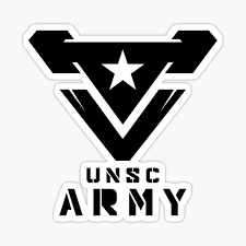 Halo Unsc Army Sticker By Teethehee Redbubble