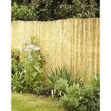 Amazon Com Backyard X Scapes Peeled Reed Fencing 6ft H X 16ft L Garden Outdoor