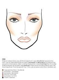mac makeup face charts cosmetics