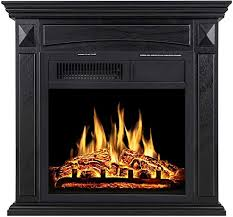 electric fireplace mantel package
