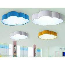 Nig Creative Acrylic Cloud Led Ceiling Lamp Kids Bedroom Kindergarten Pendant Light