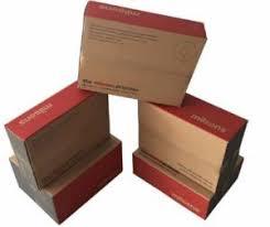 c flute corrugated carton box
