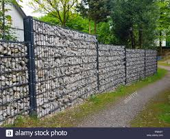 Gabion Walls High Resolution Stock Photography And Images Alamy