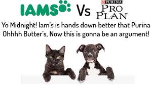 purina pro plan vs iams year which