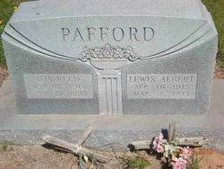 Ida Reed Pafford (1914-1993) - Find A Grave Memorial