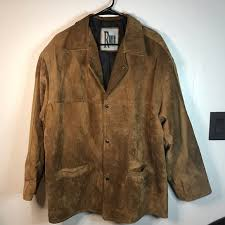 tan brown suede leather jacket