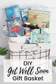 homemade get well soon gift basket ideas