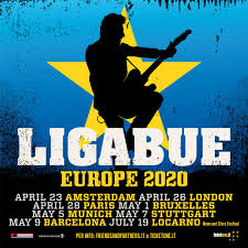 Luciano Ligabue torna live in Europa!