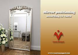 mirror positioning according to vastu