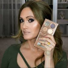 green smokey eye makeup tutorial video