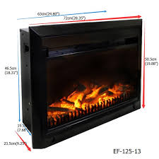 electric fireplace insert ef 125 13
