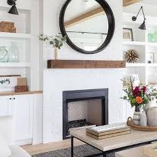 built ins flanking fireplace design ideas
