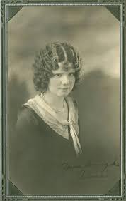 Clara Effie Patterson, St. John, Washington, 1930 - Whitman County Heritage  - Washington Rural Heritage