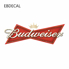 Ebdecal Budweiser Auto Car Bumper Window Wall Suitcase Decal Sticker Decals Diy Decor Ct12968 Car Stickers Aliexpress