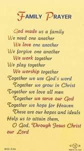family prayer quote quotesta