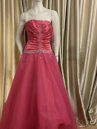 Hillary Morgan PINK PROM dress size 12 brand new with tags RRP £800 XMAS  SALES!! | eBay
