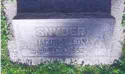 Edna Adeline Andrews Snyder (1852-1941) - Find A Grave Memorial