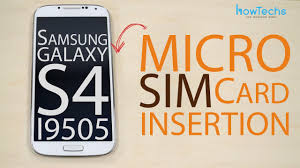 samsung galaxy s4 gt i9505 micro sim