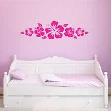 Hibiscus Wall Quotes Decal Wallquotes Com