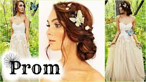 dream makeup hair for prom grwm