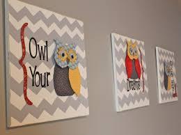 how to make owl dorable wall art