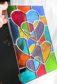 easy glass painting designs and