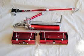 flat box pro set drywall taping tools