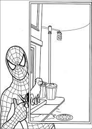 Spiderman Kleurplaat Gratis Kleurplaten Printen