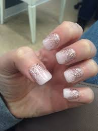Pink Tutu Champagne Gel Nails With Images Pink Gel Nails