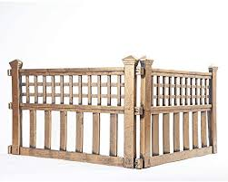 Easylife Lifestyle Solutions Instant Garden Fence Panels Finishing Touch Or Lawns And Flowerbeds Made