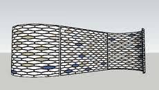 Outdoor Fence Wind Break 3d Warehouse