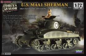 U S M4a1 Shaman 3rd Infantry Division France 1944 Plastic Model Hobbysearch Military Model Store