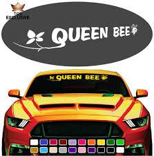 Queen Bee Cool Fun Windshield Window Vinyl Car Decals Truck Decals Ebay