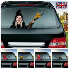 Santa Claus Windscreen Wiper Window Door Car Stickers Lovely Decoration Novelty Sticker Funny Truck Head Graphics Decals Decals Bumper Stickers Color Name Red Exterior Accessories Decals Bumper Stickers