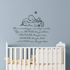 Wall Decal Winnie The Pooh Quote Always Remember You Are