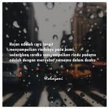 catatan cinta muslimah 💦 hujan adalah cara langit menyampaikan