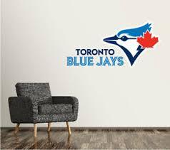 Toronto Blue Jays Wall Decal Logo Baseball Mlb Sticker Vinyl Large Sr46 Ebay