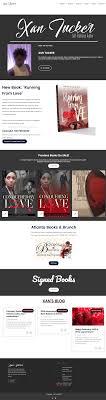 Xan's Author Website Design – Addie Fisher