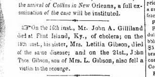 Mrs. L. Gibson [is this Lucy?) - Newspapers.com