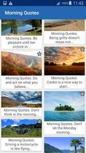 morning quotes and aphorisms for android apk