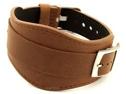 pad watch strap band moscow brown 22mm