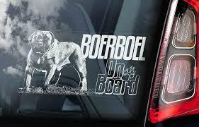 Weimaraners On Board Weimaraner Vorstehhund Dog Decal V03 Car Window Sticker