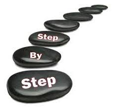 Image result for step by step